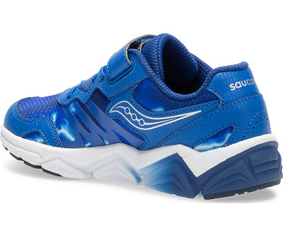 Flash Velcro - Blue by Saucony - Ponseti's Shoes