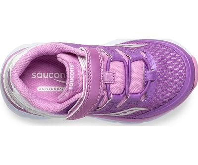 Baby Freedom ISO - Purple / White by Saucony - Ponseti's Shoes