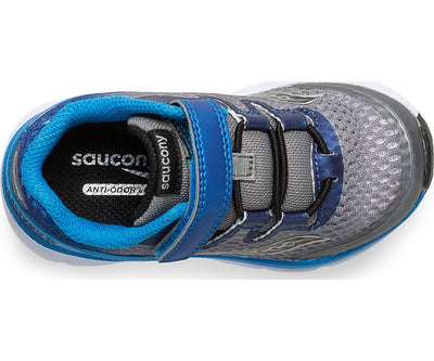 Baby Freedom ISO - Grey / Blue by Saucony - Ponseti's Shoes