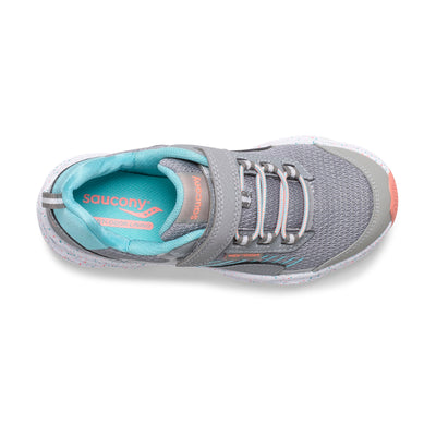 Wind Shield - Grey / Turquoise Velcro