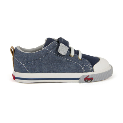 Stevie - Chambray by See Kai Run - Ponseti's Shoes