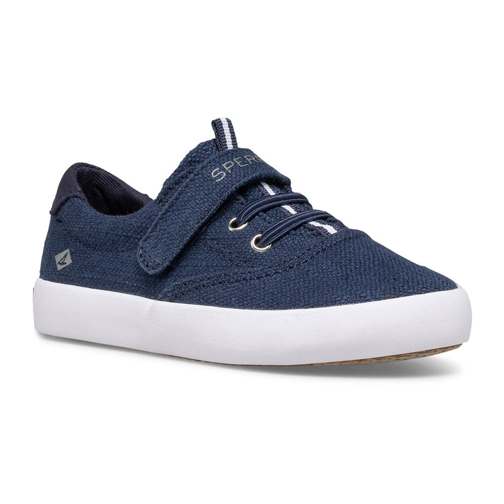 Spinnaker - Navy Canvas Velcro by Sperry