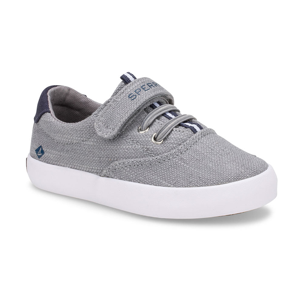 Spinnaker - Grey Canvas Velcro by Sperry
