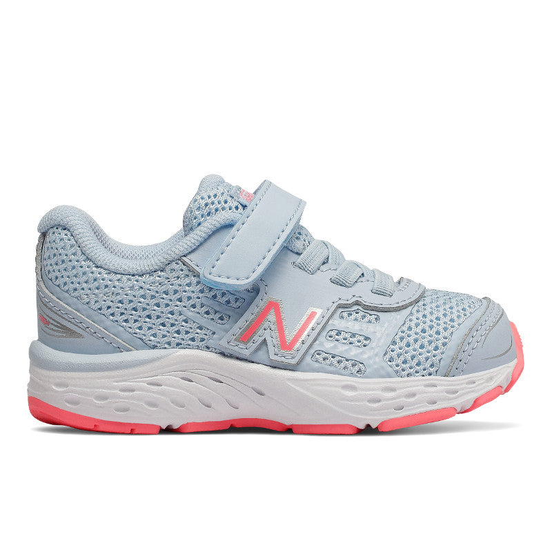 680v5 Velcro - Air / Guava by New Balance - Ponseti's Shoes