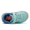 680v6 Velcro - Bali Blue / Mako Blue / Ginger Pink by New Balance - Ponseti's Shoes