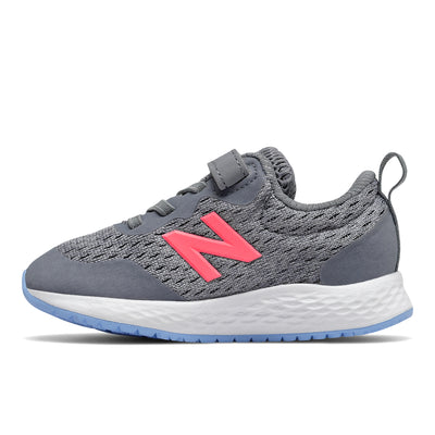 Fresh Foam Arishi - Gunmetal with Tahitian Pink & Team Carolina by New Balance - Ponseti's Shoes