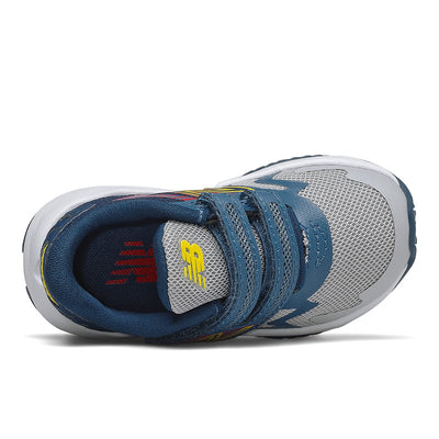 Rave Run - Light Aluminum / Rogue Wave / Energy Red Velcro