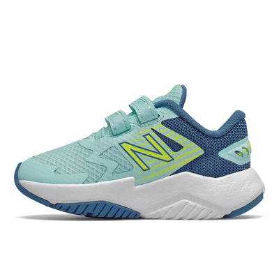 Rave Run - Bali Blue / Mako Blue / Lemon Slush by New Balance - Ponseti's Shoes
