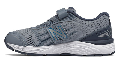 680v5 Velcro - Reflection / Maldives Blue by New Balance - Ponseti's Shoes