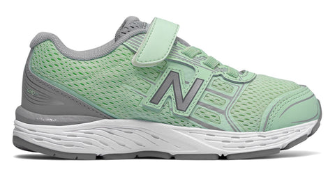KA680v5 - Seafoam / Steel by New Balance - Ponseti's Shoes
