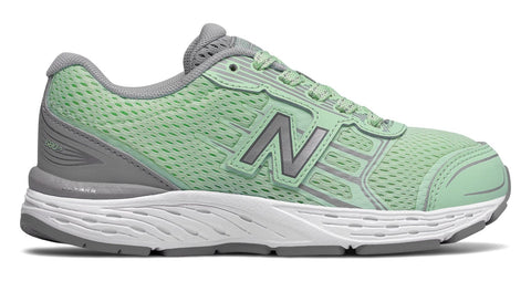 KR680v5 - Seafoam / Steel by New Balance - Ponseti's Shoes