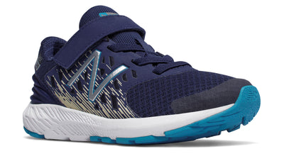 FuelCore Urge Velcro - Techtonic Blue by New Balance - Ponseti's Shoes