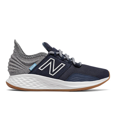 Roav Tee Shirt - Natural Indigo with Light Aluminum by New Balance - Ponseti's Shoes