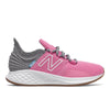 Roav Tee Shirt - Candy Pink with Light Aluminum by New Balance - Ponseti's Shoes