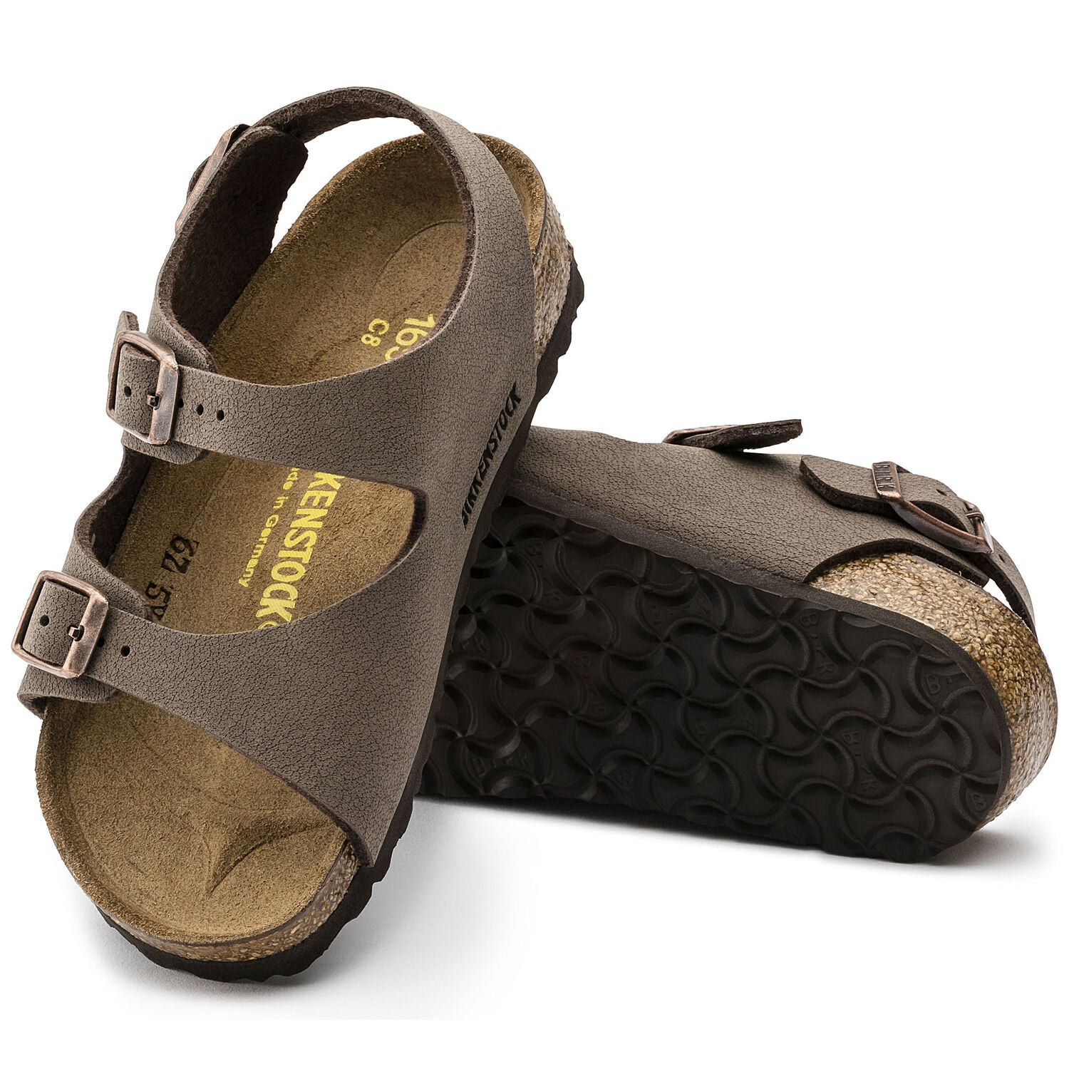 Roma - Mocha by Birkenstock - Ponseti's Shoes