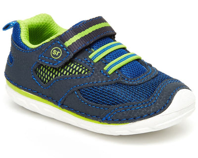 Adrian - Navy by Stride Rite - Ponseti's Shoes