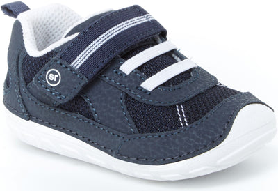 Jamie - Navy/White by Stride Rite - Ponseti's Shoes