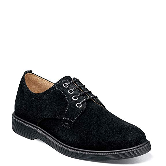 Supacush - Black Suede by Florsheim - Ponseti's Shoes