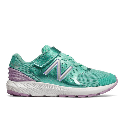 FuelCore Urge Velcro - Tidepool/Violet by New Balance - Ponseti's Shoes
