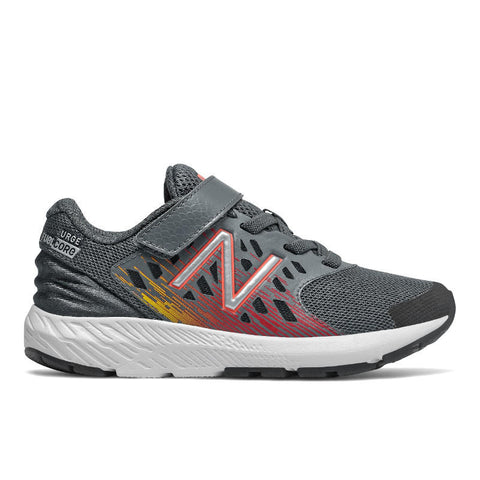 FuelCore Urge Velcro - Lead/Red by New Balance - Ponseti's Shoes