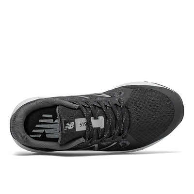 New Balance 519 - Boys Black / Magnet by New Balance - Ponseti's Shoes