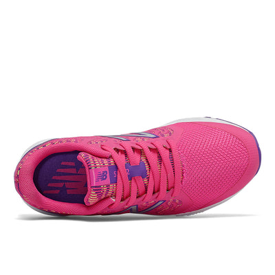 New Balance 519 - Girls Exuberant Pink / Prism Purple / Lemon Slush by New Balance - Ponseti's Shoes