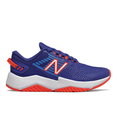 Rave Run - Marine Blue / Vision Blue / Neo Flame by New Balance - Ponseti's Shoes