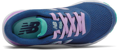680V6 - Blue / Dark Violet / White Mint Lace