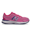 680v6 Lace - Candy Pink / Exuberant Pink / Marine Blue by New Balance - Ponseti's Shoes