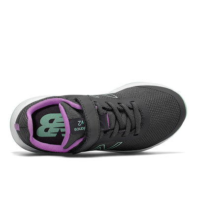 New Balance 455 - Girls Magnet / Neo Violet / Neo Mint by New Balance - Ponseti's Shoes
