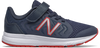 New Balance 519 - Natural Indigo / Eclipse / Team Red Velcro