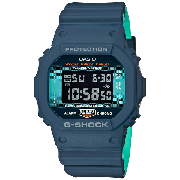 Casio G-Shock Navy Blue Watch - DW-5600CC-2ER