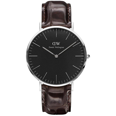 Daniel Wellington Unisex Black Classic York Watch - DW00100134