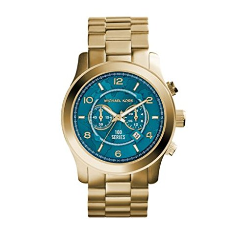 Michael Kors Ladies Gold Hunger-Stop Watch - MK5815