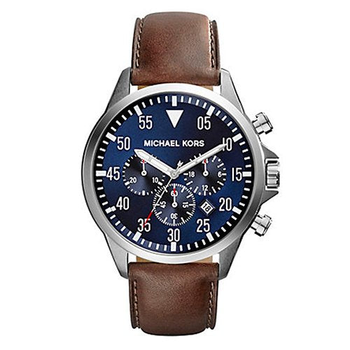 Michael Kors Mens Blue Gage Chronograph Watch - MK8362