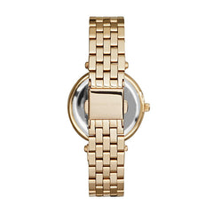Michael Kors Ladies Gold Mini Darci Watch - MK3365