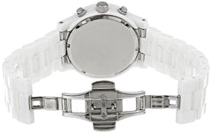 Michael Kors Unisex White Ceramic Runway Watch - MK5161