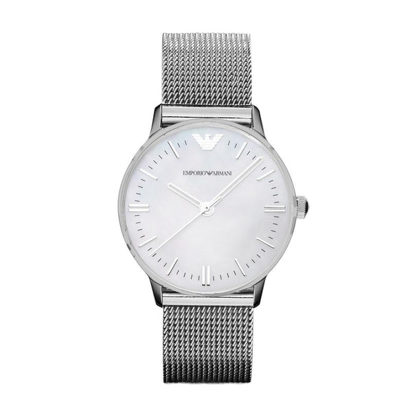 Emporio Armani Ladies Stainless Steel Classic Watch - AR1631