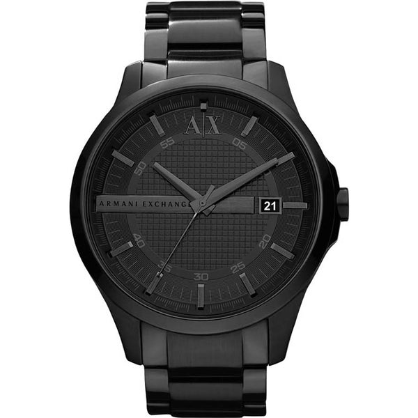 Armani Exchange Mens Black Ceramic Watch - AX2104