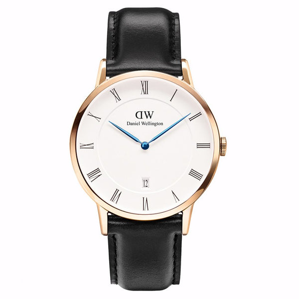 Daniel Wellington Mens Black x White Sheffield Watch - DW00100084