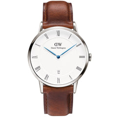 Daniel Wellington Mens Silver Dapper St Mawes Watch - DW1120