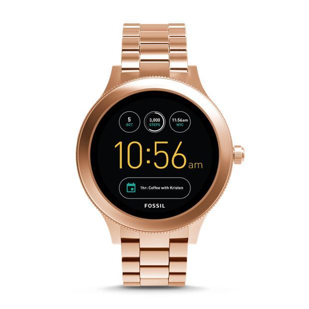 Fossil Q Ladies Rose Gold Generation 3 Smartwatch - FTW6000