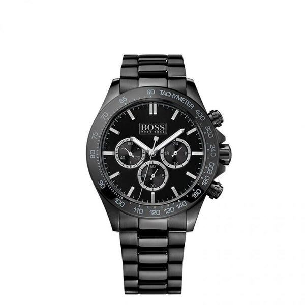 Hugo Boss Mens  Black Ikon Watch - HB1512961
