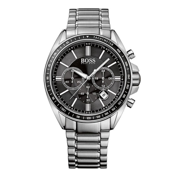 Hugo Boss Mens Silver Stainless Steel Watch - HB1513080