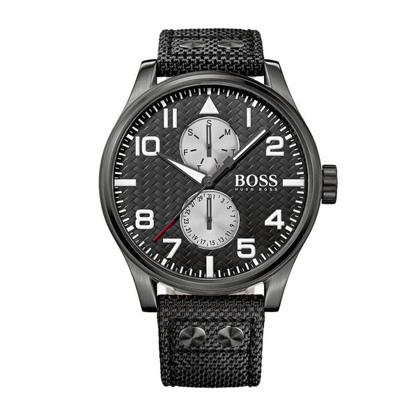 Hugo Boss Men's Black Aeroliner MAXX Watch - HB1513086