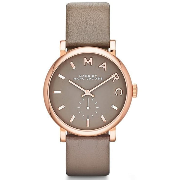 Marc Jacobs Grey x Rose Gold Ladies Baker Watch - MBM1266