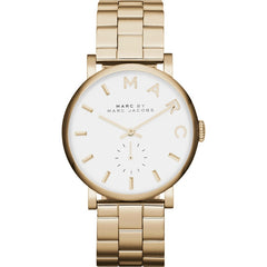 Marc Jacobs Ladies Gold Baker Watch - MBM3243