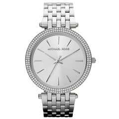 Michael Kors Ladies Silver Darci Watch - MK3190