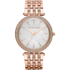 Michael Kors Ladies Rose Gold Darci Watch - MK3220