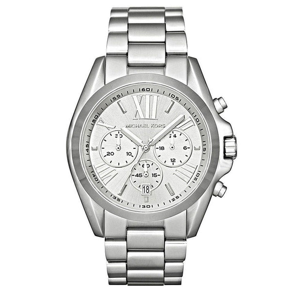 Michael Kors Ladies SIlver Bradshaw Watch - MK5535